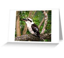 In the Baby's beak  Greeting Card