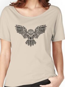 owl tattoo  Women's Relaxed Fit T-Shirt