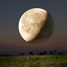 Unreal Moonrise by Chris Cohen