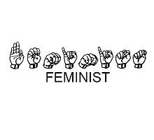 FEMINIST - Sign Language by reibaka