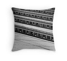 Art of Geometry - Slant Throw Pillow