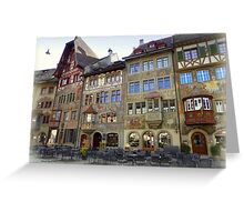 Stein am Rhein Greeting Card