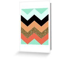 Chevron pattern Greeting Card