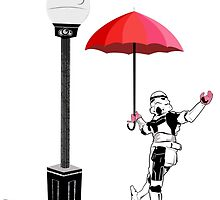 Singing in the Rain (Pink Period) by allymcspong
