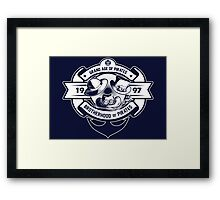 BROTHERHOOD OF PIRATES Framed Print