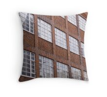 Building facade in Brighton Throw Pillow
