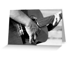 Sound of Strings Greeting Card