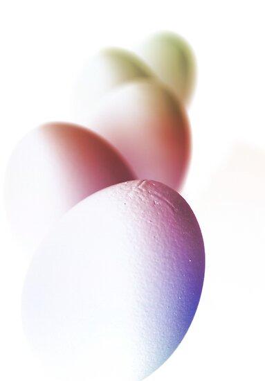 Tipsy Easter Card by Johanne Brunet