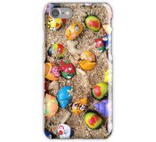 painted hermit crabs, Jakarta iPhone Case/Skin