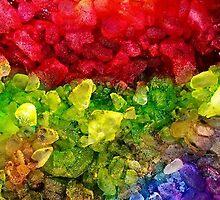 Rainbow dye ice fade by 710visuals