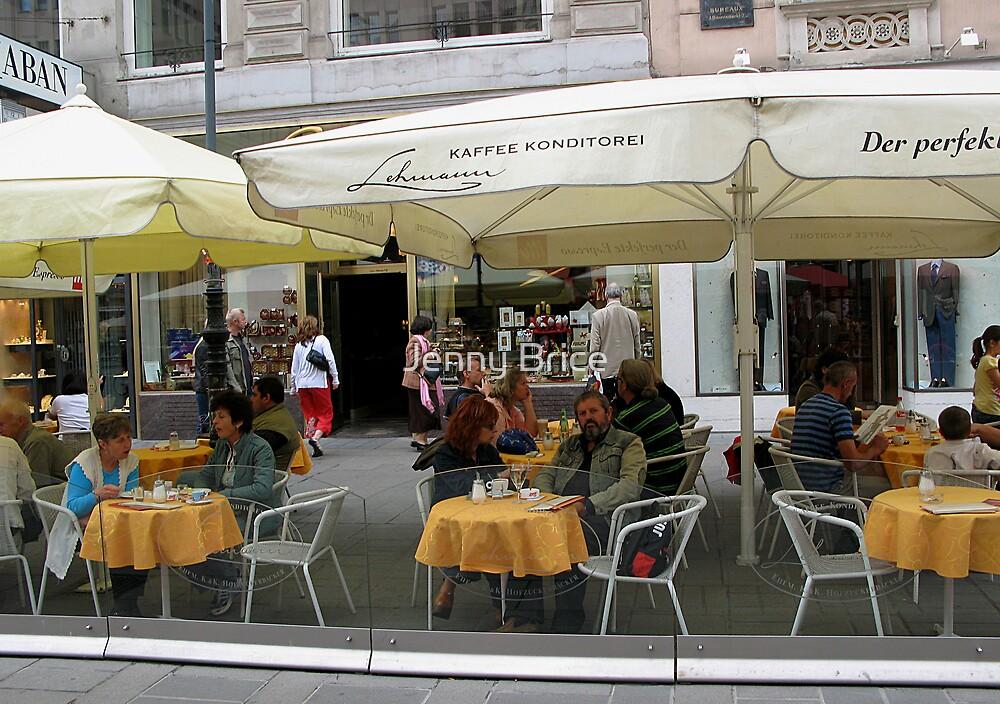 Vienna Street Scene by Jenny Brice