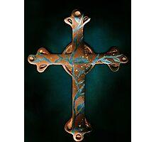Copper Cross Photographic Print