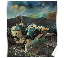 Laforêt (Vresse) Village Belgium Poster