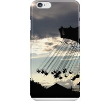 Swings in Paris iPhone Case/Skin