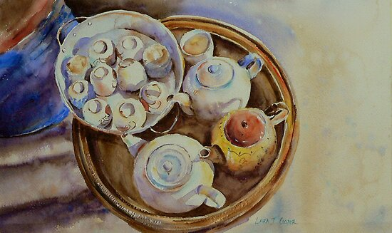Hmong Tea by Lara  Cooper