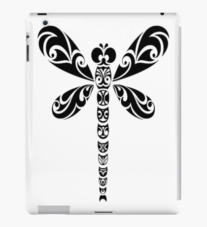 Tribal Dragonfly Tattoo iPad Case/Skin