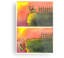 To March On (field version)   Metal Print