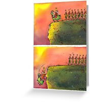 To March On (field version)   Greeting Card