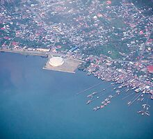 """""""overlooking of tacloban city convention center""""by: meltagana by meltagana"""