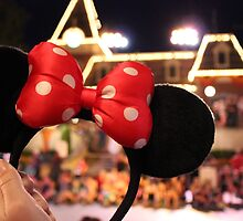Minnie Mouse Ears on Mainstreet by CarolynBurt