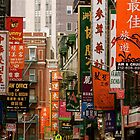Chinatown, New York City by Jeff Blanchard