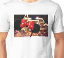 Minnie Mouse Ears on Mainstreet Unisex T-Shirt