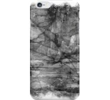 The Atlas of Dreams - Plate 13 (b&w) iPhone Case/Skin