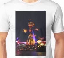 Tomorrowland Astro Orbitor at Night Unisex T-Shirt