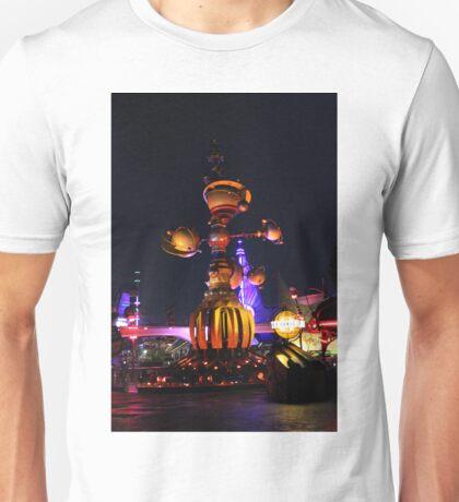 Tomorrowland Astro Orbitor at Night Unisex T-Shirt