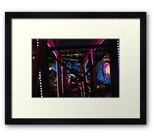 California Screamin via Mickey's Fun Wheel Framed Print