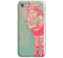 Naruto Dressed as a Punk Girl iPhone Case/Skin