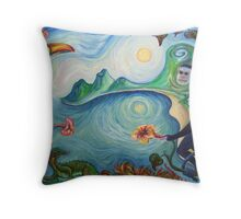 Once in Costa Rica Throw Pillow