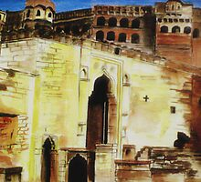 Mehrangarh Fort,Jodhpur(india) by ramya kapula