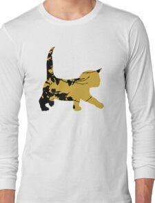 Shadow Creeping Kitten Long Sleeve T-Shirt