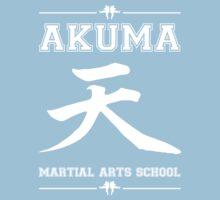 Akuma Martial Arts School One Piece - Short Sleeve