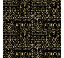 Patchwork seamless snake skin pattern texture Photographic Print