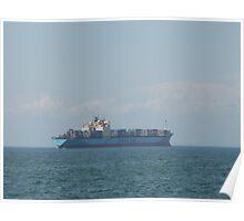 sailing into sea Poster