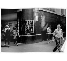 Degraves Street, Melbourne  Poster