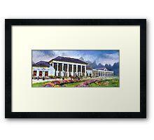 Germany Baden-Baden Casino Framed Print