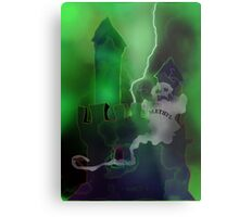 Methylated Spirits Metal Print