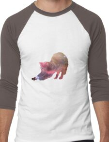 Galactic Cat Scratch Men's Baseball ¾ T-Shirt