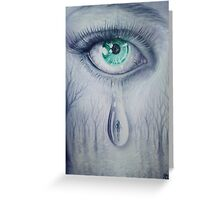 Tears Greeting Card