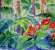 Rainforest Tamborine  by Virginia McGowan