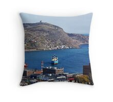 High above the city Throw Pillow