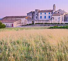 Dusk on Salagon - Provence by Patrick Morand