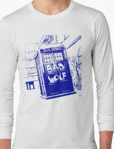 Bad Wolf - TARDIS  Long Sleeve T-Shirt