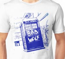 Bad Wolf - TARDIS  Unisex T-Shirt