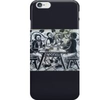 drinking graffito, Zurich Switzerland iPhone Case/Skin