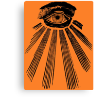 The All Seeing Eye. Canvas Print