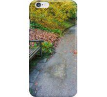 Fall Walks iPhone Case/Skin